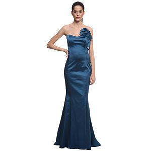 Zeynep Tosun Petrol Mavi Gece Elbisesi