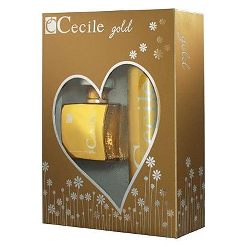 Cecile Gold EDT 100ML + Deodorant 150ML Bayan Parfüm Set