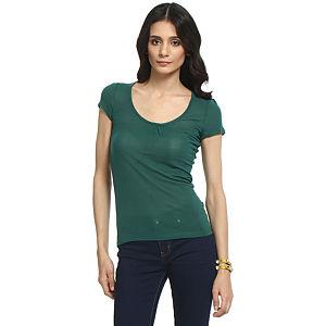 Koton Koyu Yeşil Bluz