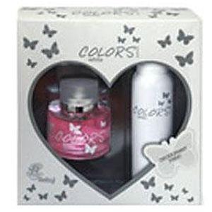 Rebul Colors White Bayan Parfüm Set 100ML EDT + 150ML Deodorant