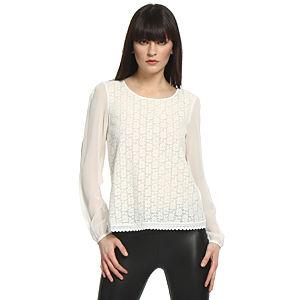 Vero Moda Dantelli Beyaz Bluz
