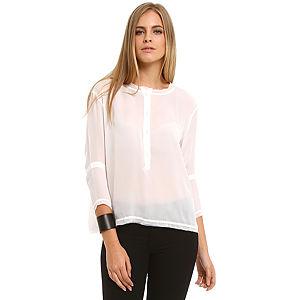 American Vintage Beyaz İpek Gömlek