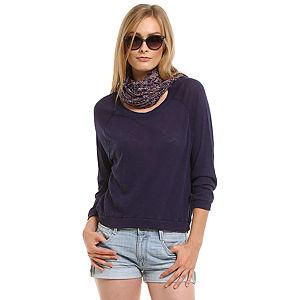 American Vintage Uzun Kollu Lacivert Tişört