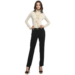 Balizza Siyah Kumaş Pantolon