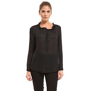 Benetton Siyah Gömlek