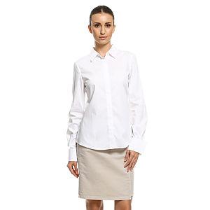 Bil's Duble Kollu Beyaz Gömlek