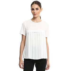 Enmoda Pilili Beyaz Bluz