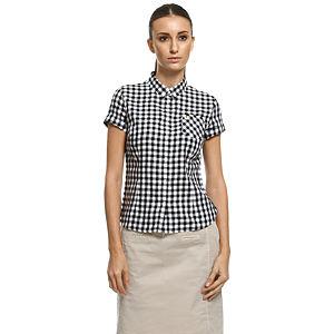 Fred Perry Kareli Siyah/Beyaz Gömlek