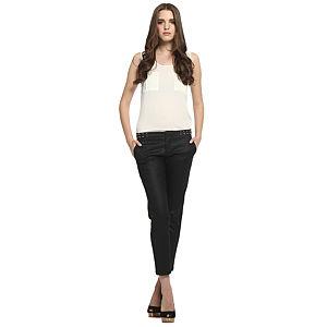 Koton Zımbalı Siyah Pantolon