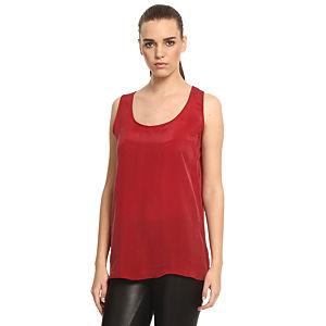 Sade İstanbul Kırmızı Askılı Bluz
