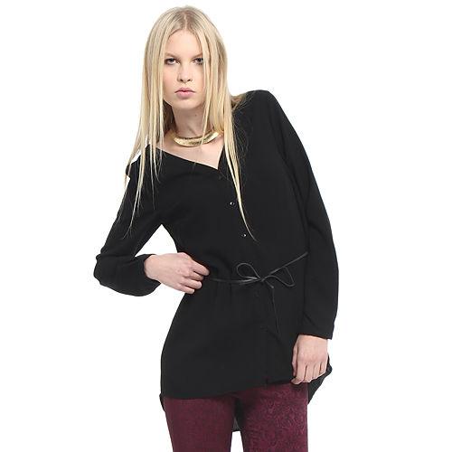 Vero Moda Siyah Gömlek