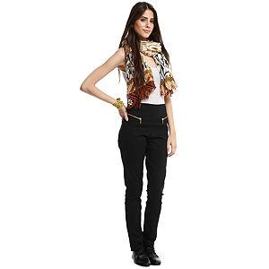 Vero Moda Yüksek Bel Siyah Tayt Pantolon