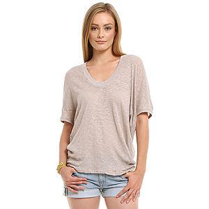 American Vintage Gri Tişört