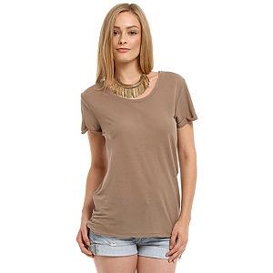 American Vintage Kahverengi Tişört