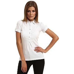 Enmoda Polo Yaka Beyaz Tişört