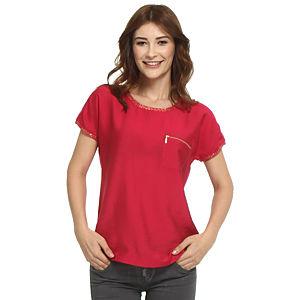Koton Fuşya Tişört