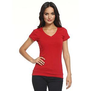 Koton V Yaka Kırmızı Tişört