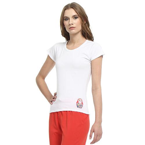 Shakespeare in Love Kırmızı Matruşkalı Beyaz Tişört