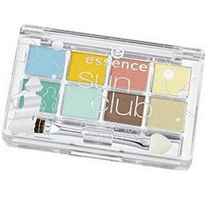 Essence Sun Club Glamour Eyeshadow Palette Sout Beach 01 8`li Palet Far