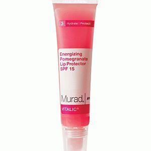 Murad Energizing Pomegranate Lip Protector SPF15 15GR Enerji Veren Nar Özlü Dudak Koruyucusu