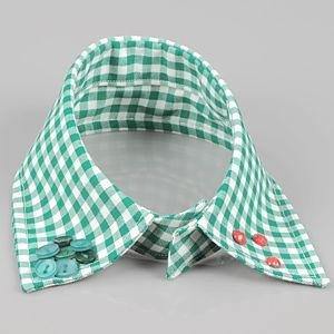 Fashion By Pride    Green Button Yaka