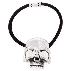 MiaRossa    Mat Gümüş Rengi Skull Toka