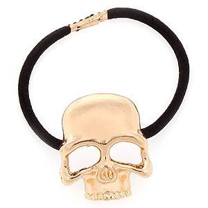 MiaRossa    Parlak Altın Rengi Skull Toka