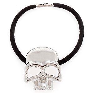 MiaRossa    Parlak Gümüş Rengi Skull Toka