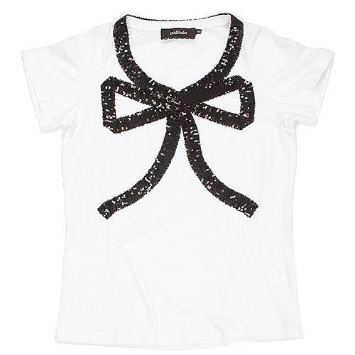 Aslı Filinta Sample Sale    Rasputin Black Bow Tişört