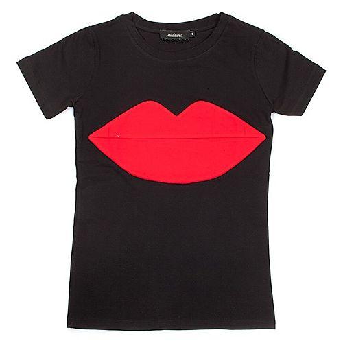 Aslı Filinta Sample Sale    Red Lip Tişört