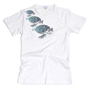 Derya Şensoy Tshirts    Kaplumbağa Unisex Tişört