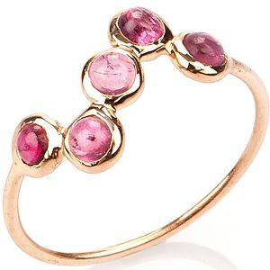 Elif Doğan Jewelry    Pembe S Bubble Yüzük