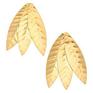 Lin Jewelry    Üç Yapraklı Küpe