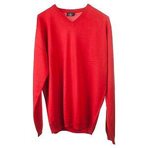 Silk & Cashmere    Kırmızı Kazak