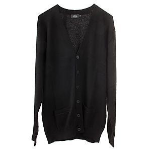 Silk & Cashmere    Siyah Arma Hırka