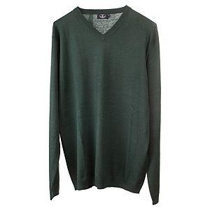 Silk & Cashmere    Yeşil Kazak