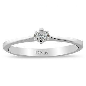 Divas Diamond    0,07 ct Pırlanta Tektaş Yüzük