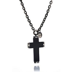 Gucci    Neck Ebony Cross Kolye