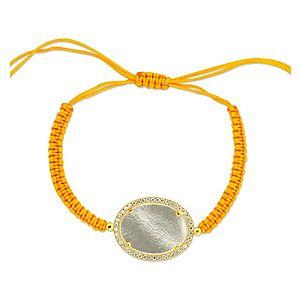 House of J    Sarı Şambala Gümüş Bileklik