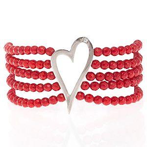 SHAINA    Red Heart Bileklik