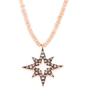 Takika Diamond    Somon Kutup Yıldızı Kolye