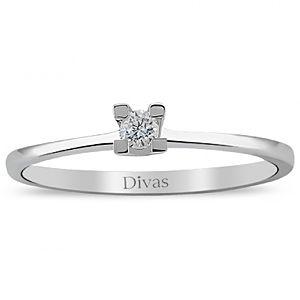 Divas Diamond    0,06 ct Pırlanta Altın Yüzük