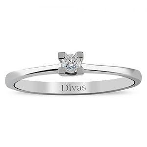 Divas Diamond    0,07 ct Pırlanta Altın Yüzük