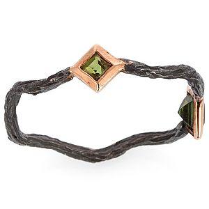 Elif Doğan Jewelry    Tek Dallı Tur Yüzük