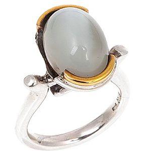 GeM By Mineral    Aytaşı Gümüş ve Altın Yüzük