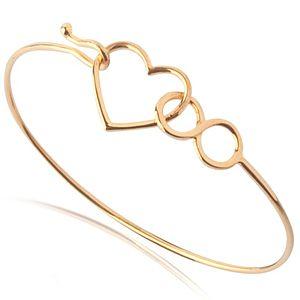 Lin Jewelry    Kalp ve Sonsuzluk Bilezik