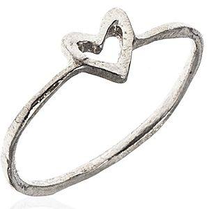 Zeckie by Zekiye Koçarslan    Gümüş Kaplama Minik Kalp Yüzük