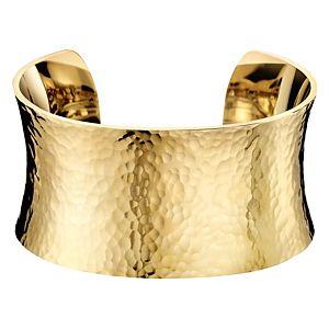 Calvin Klein    Altın Rengi Dawn Kelepçe Bilezik