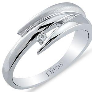 Divas Diamond    0,04 ct Pırlanta Tektaş Yüzük