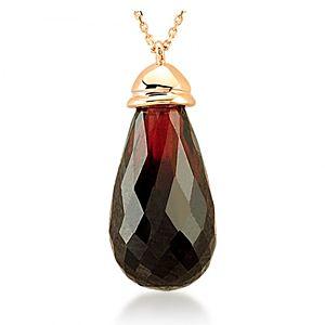 Divas Diamond    Garnet Kolye